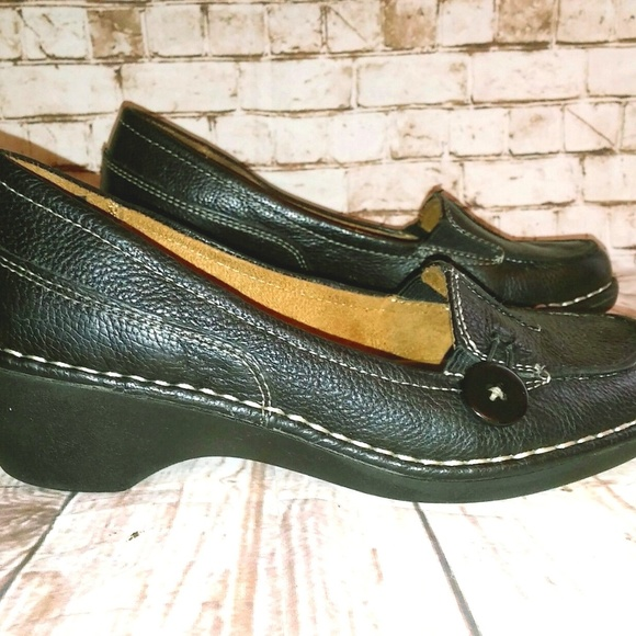 fa8058f8bc5 Naturalizer Sharon Womens 6.5 Wedge Loafers